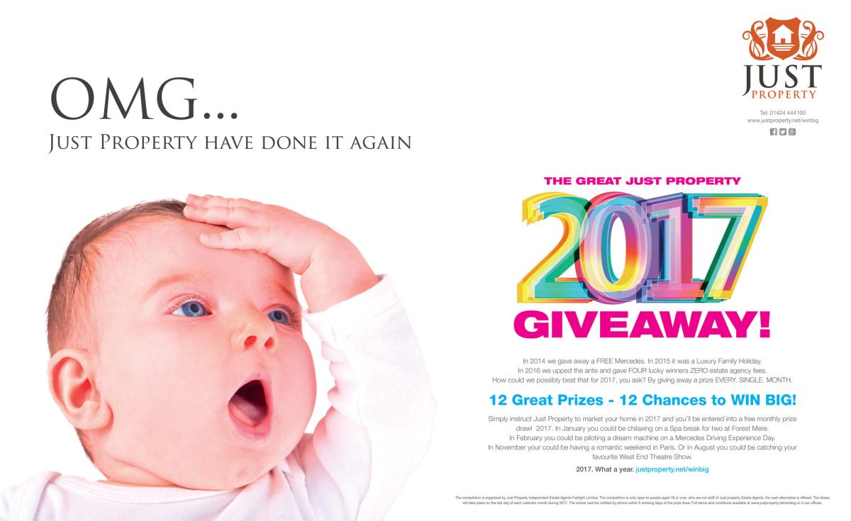 2017 Giveaway Baby Advert