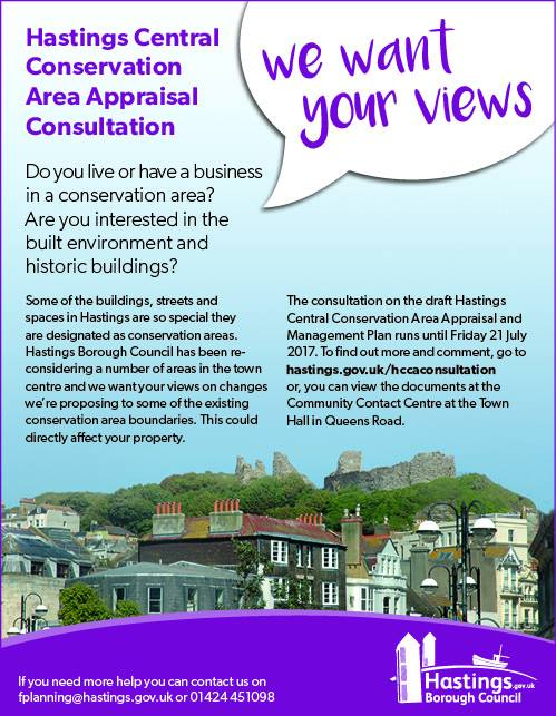 Consultation On The Old Town Conservation Area