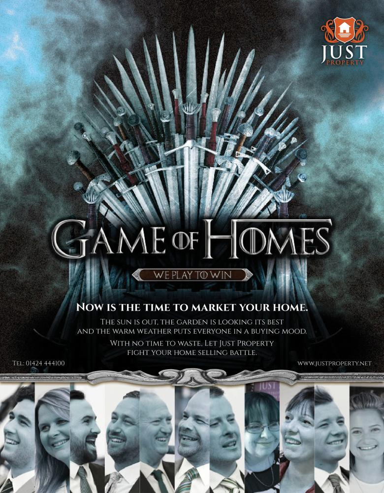 Game Of Thrones or Game Of Homes.....
