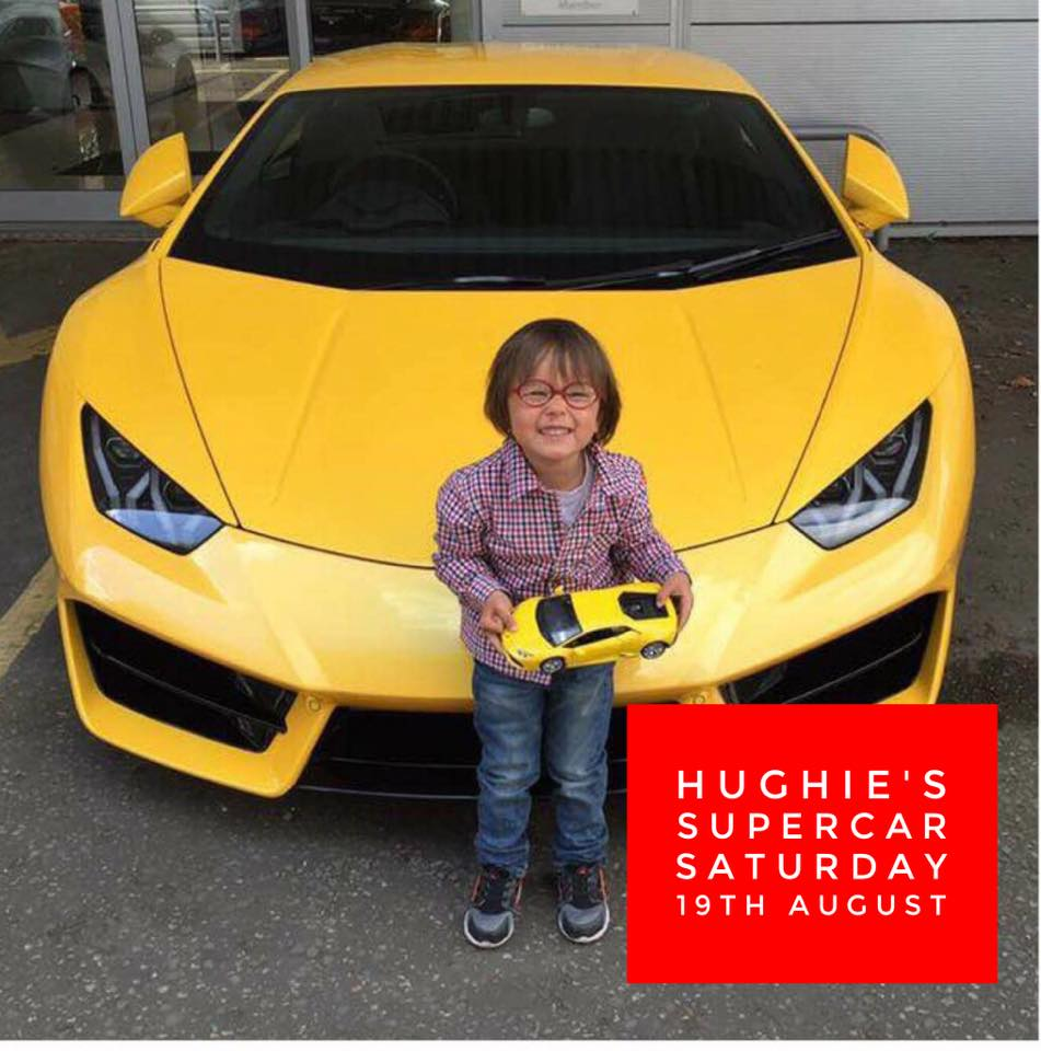 Hughie's Super-car Saturday
