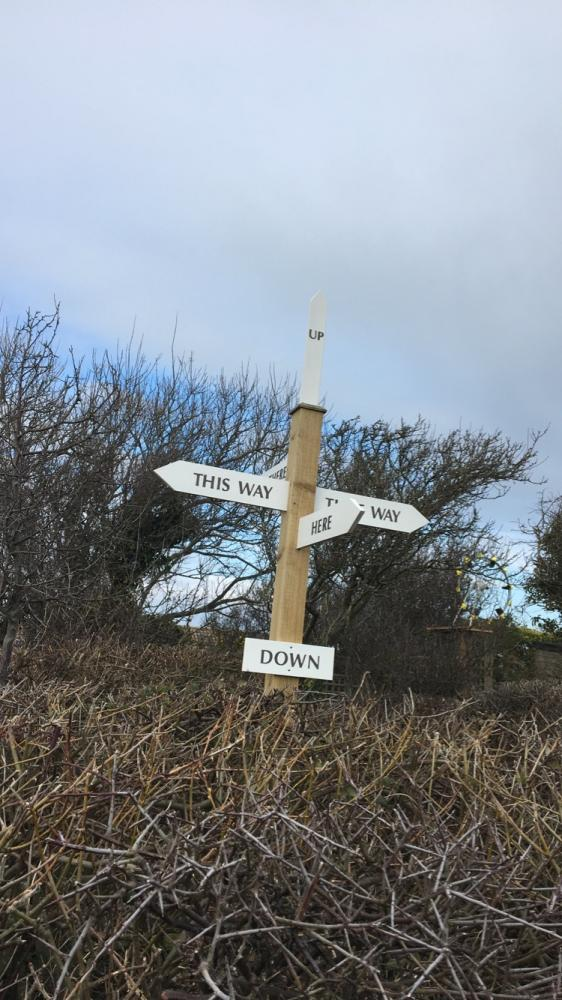 Fairlight Road Sign - Confusing?????