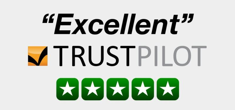 Trust Pilot Reviews *****